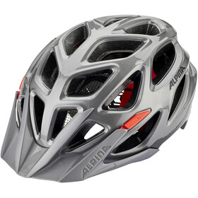Alpina Mythos 3.0 Helmet darksilver-black-red